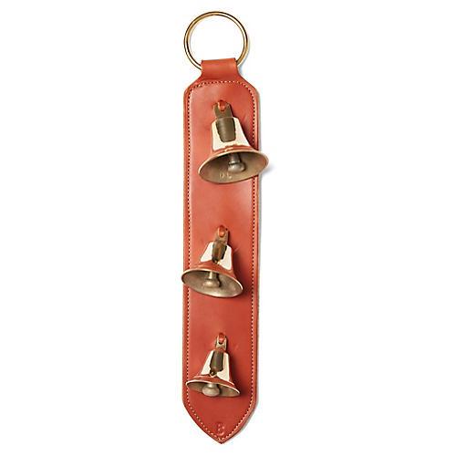 Noel Door Hanger Bells, Chestnut