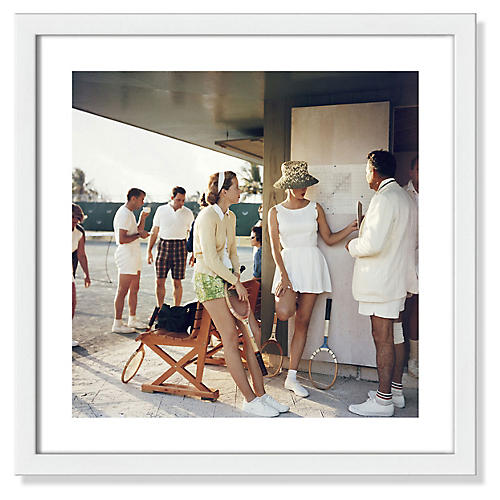 Slim Aarons, Tennis in the Bahamas