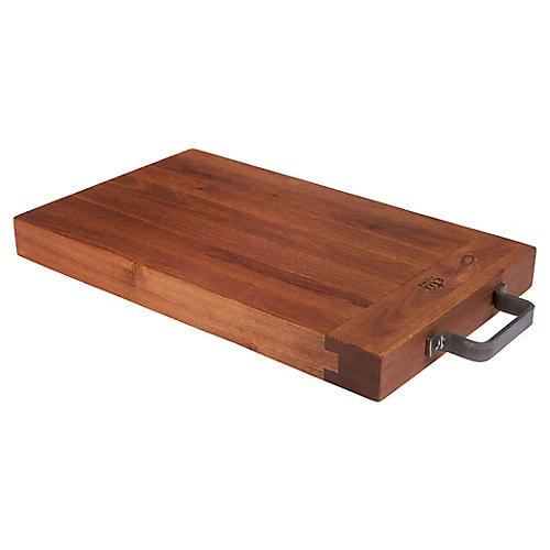 Rivera Cutting Board, Natural/Gray