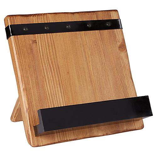 Lena Cookbook Holder, Natural/Black