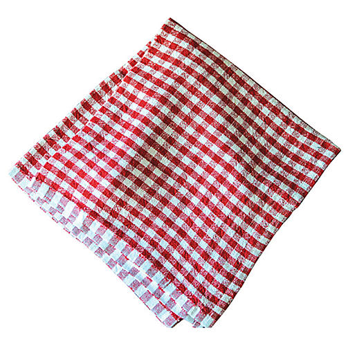 S/4 Godrich Dinner Napkins, Red