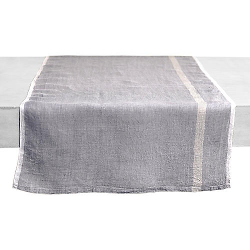 Cervetto Table Runner, Gray