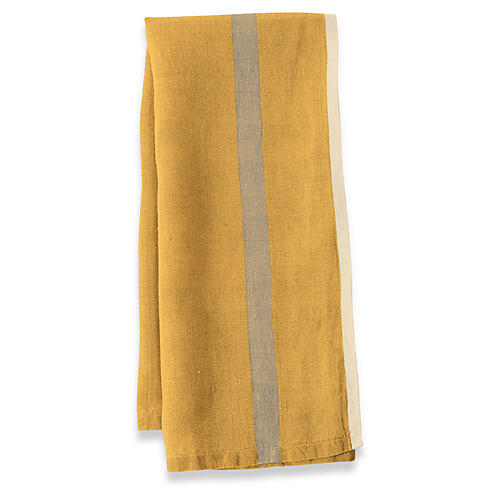 S/2 Coccia Tea Towels, Mustard