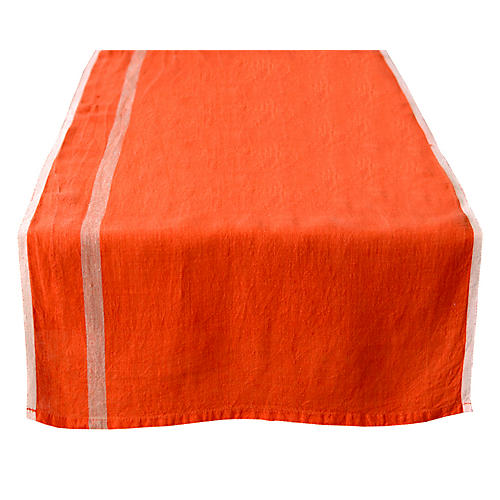 Belloc Table Runner, Orange