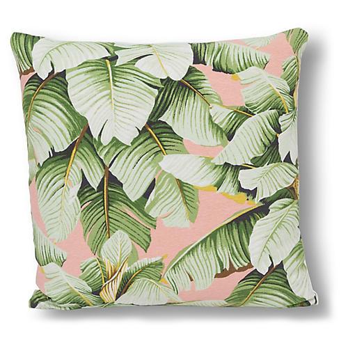 Kana 20x20 Pillow, Blush/Green