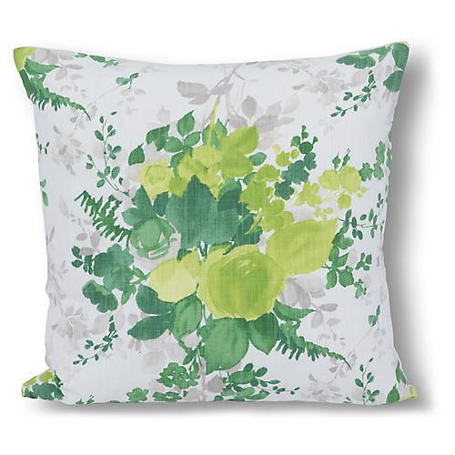 Azariah 22x22 Pillow, Green
