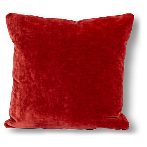 Percy 20x20 Pillow, Coral