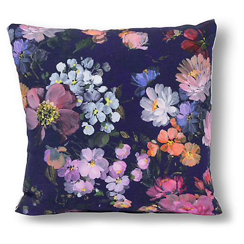 Cora 20x20 Pillow, Blue/Multi
