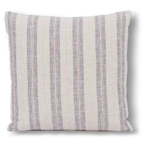 Oakley 20x20 Pillow, Blush/Gray