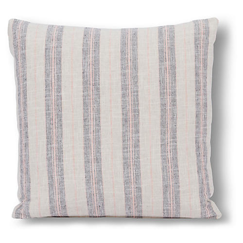 Oakley 20x20 Pillow, Blush/Gray