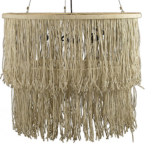 Hitch Chandelier, Natural