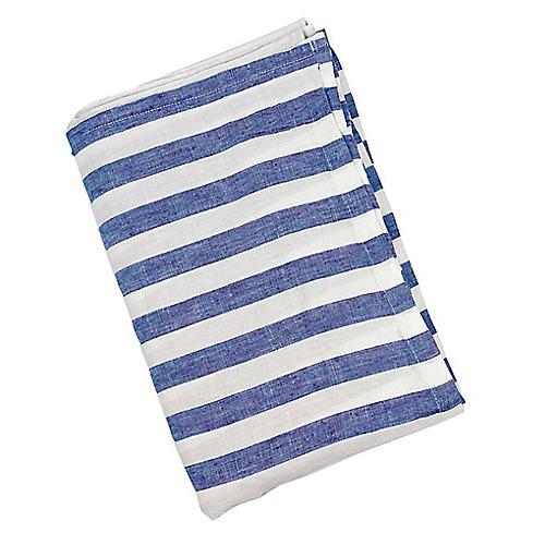 Sur La Mer Beach Towel, Blue