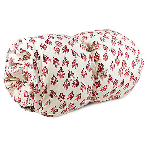 Normandy Bow Throw Bed, Red