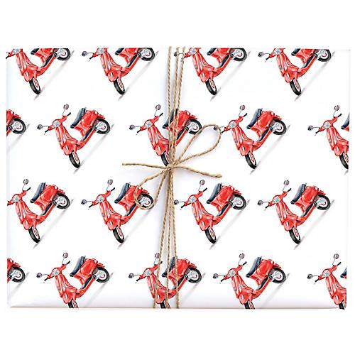 S/3 Vespa Gift Wrap