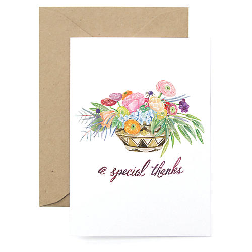 S/8 Special Thanks Note Cards