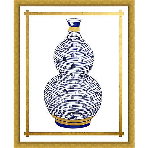 Golf Leaf Vase III