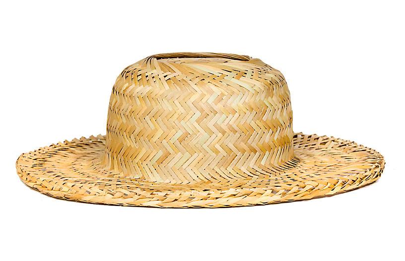 Ugandan Palm-Leaf Hat - Natural - All Across Africa