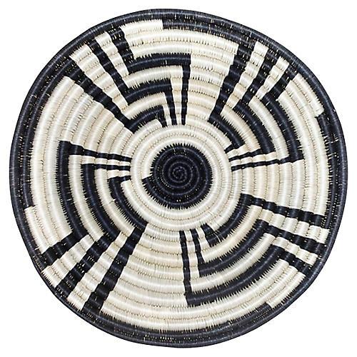 Unity Trivet, Black/Ivory