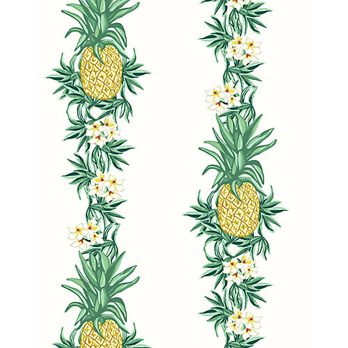 Pineapple Express Wallpaper, White