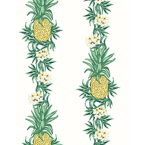 Pineapple Express Wallpaper, White