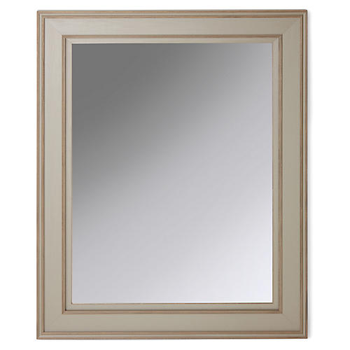 Charleston Mirror, Gray