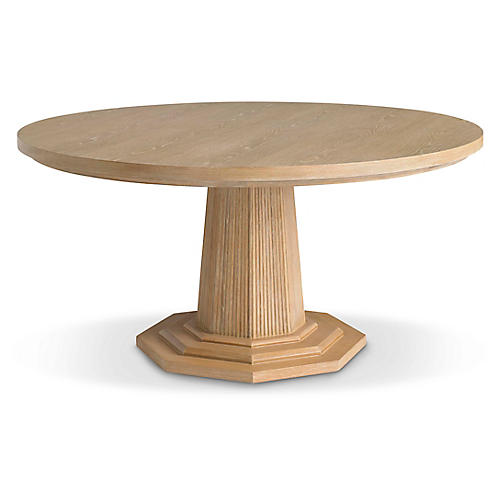 Haven Dining Table, Natural