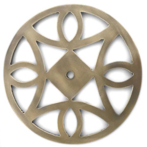Windsor Backplate, Antiqued Brass