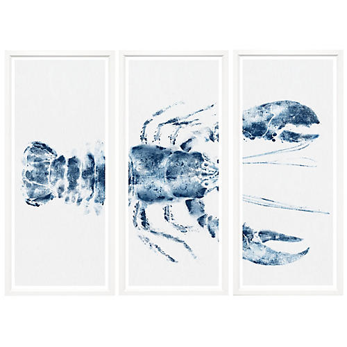 Lobster I Triptych, Lobster I Triptych