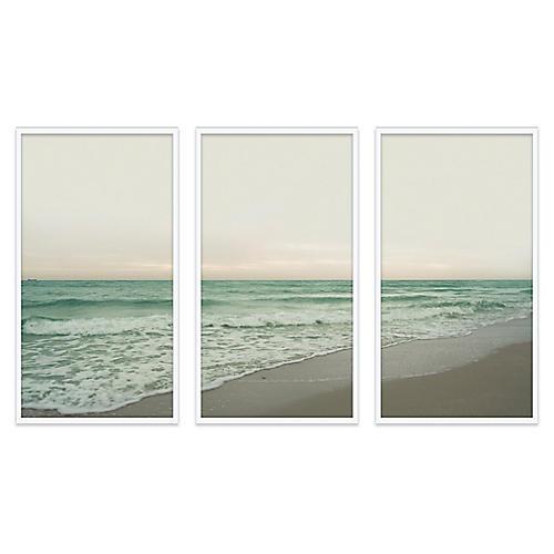 Christine Flynn, South Beach Triptych