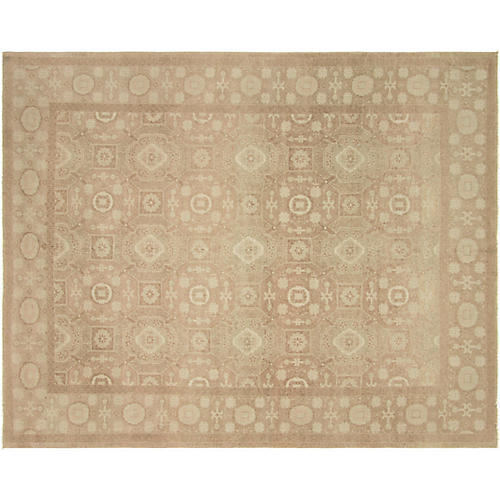 """8'2""""x10'3"""" Sultanabad Rug, Brown"""