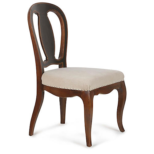 Embassy Side Chair, Natural