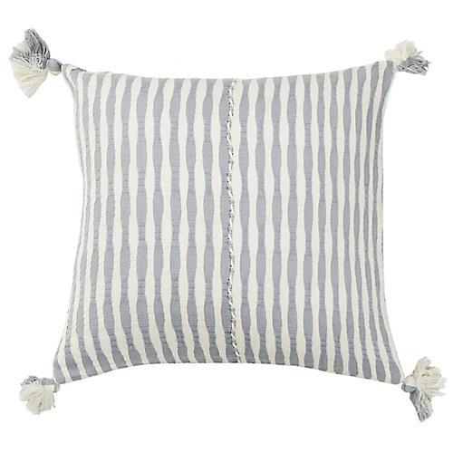 Antigua 20x20 Pillow, Light Gray