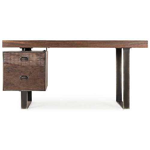 Charles Writing Desk, Natural