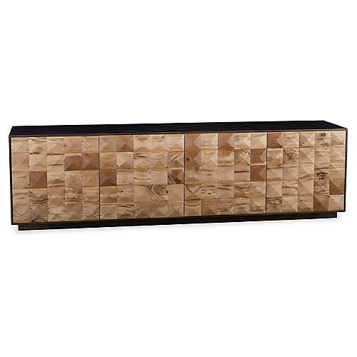 Frank Sideboard, Natural/Bronze