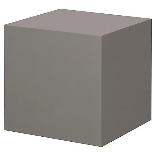Morgan Square Side Table, Gray