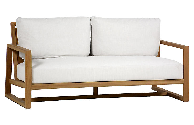 Avondale Sofa - White - SUMMER CLASSICS INC