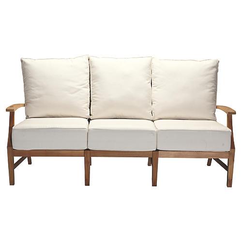 Croquet Sofa, White