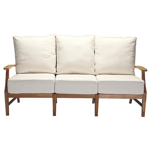 Croquet Sofa, White