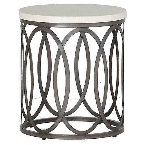 Ella Side Table, White