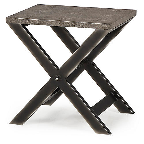 Stanley Side Table, Gray