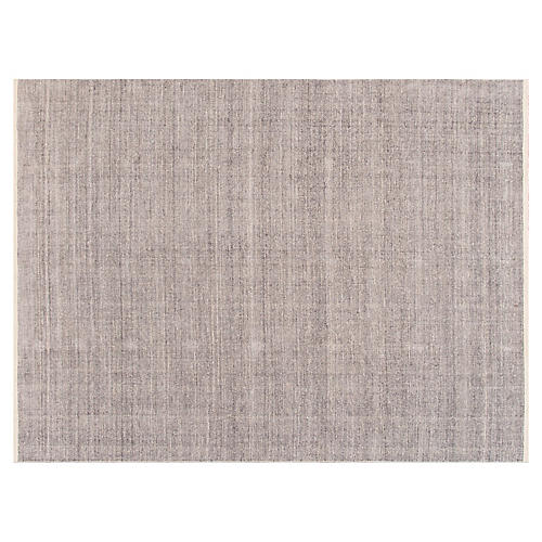 6'x9' Modern Solid Rug, Gray