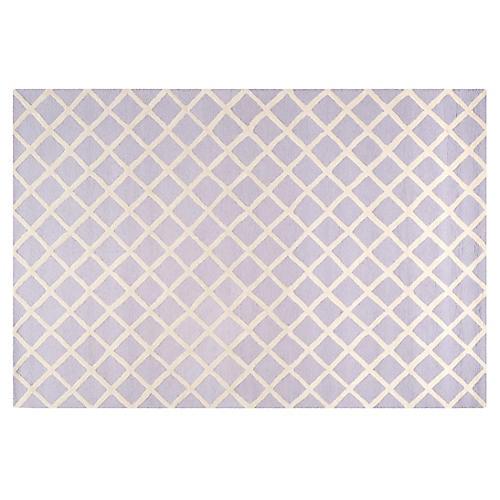 Cleo Rug, Lavender/Ivory