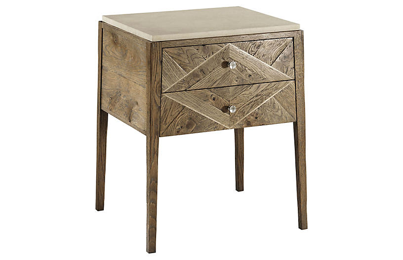 Hawkesford Nightstand, Echo Oak