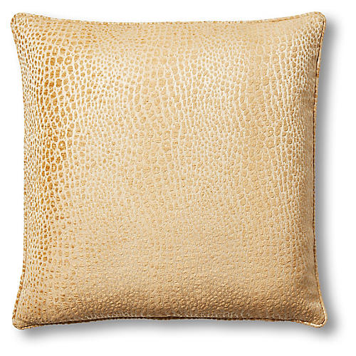 Lydia 22x22 Pillow, Caramel