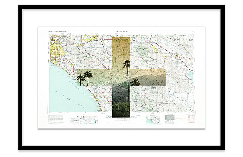 Christine Flynn, South Beach Map I
