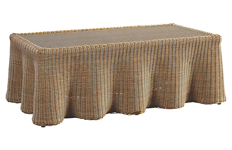 Crespi Coffee Table, Natural