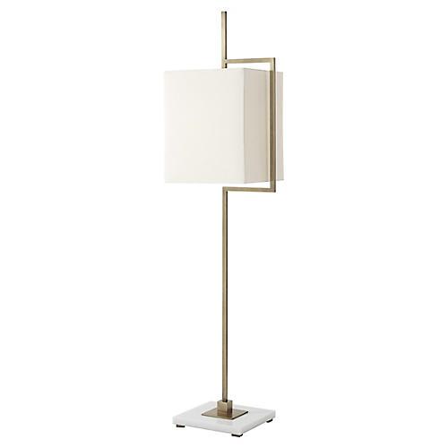 Diversion III Floor Lamp, Brass