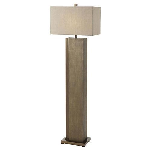 Tone I Floor Lamp, Bronze