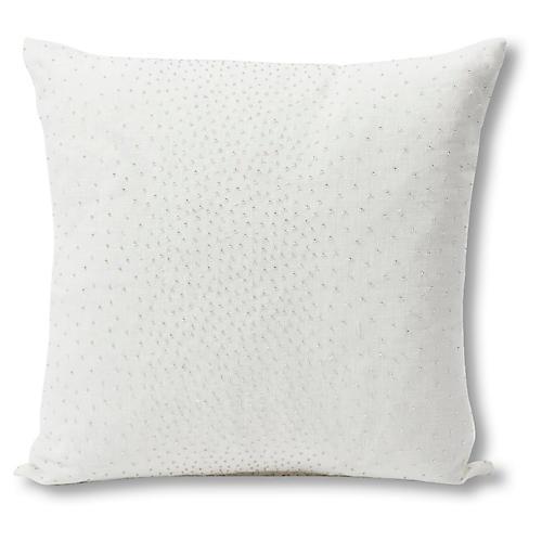 North 18x18 Pillow, Ivory Linen