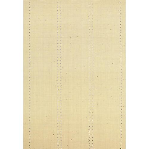 Stud Stripe Wallpaper, Silver